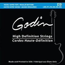 Godin Saiten für/strings for E-Gitarre 009