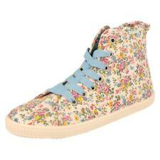 Chaussures multicolores à lacets en toile pour fille de 2 à 16 ans