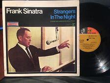 FRANK SINATRA STRANGERS IN THE NIGHT LP VINYL FRENCH MONO-STEREO 1966 CRV 1017