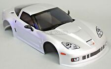 1/10 Coche Rc Chasis Chevy Corvette 190mm Plata -finished