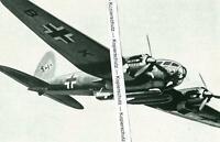 Bomber - Flugzeug - Heinkel He 111 - Luftwaffe- um 1935 (?)            T 23-14