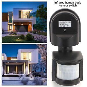 220V Outdoor 180 Degree Security PIR Motion Movement Sensor Detector Switch