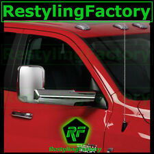 10-15 Dodge Ram 1500+2500+3500+HD Triple Chrome plated Towing Mirror+Arm Cover