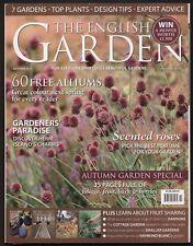 THE ENGLISH GARDEN magazine October 2012  issue 181