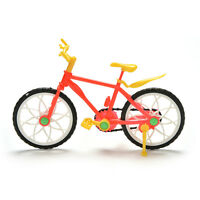 1 Pcs Creative Red Yellow Mountain Bike for s Dolls sd2
