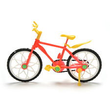 1 Pcs Creative Red Yellow Mountain Bike for Barbies Dolls Pop BH