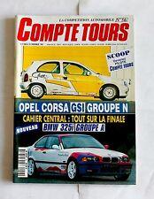 13- ANCIEN MAGAZINE REVUE COMPTE-TOURS  N°56 DEC.1994 CORSA BMW PORSCHE SUBARU