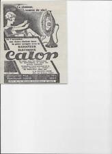 Publicité ancienne 1928 Radiateur électrique CALOR  Pub 16x13