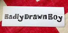 Badly Drawn Boy promotional sticker