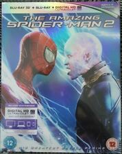 The Amazing Spider-Man 2 (3D & 2D Blu-ray 2012, 2-Disc Set) Factory sealed.