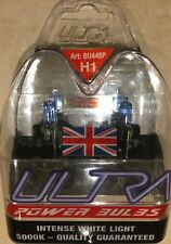 H1 ULTRA POWER BULBS H1 XENON BULBS UPGRADE ULTRA H1 POWER BULBS 5000k
