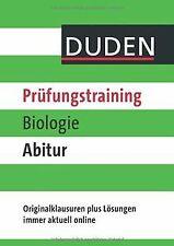 Duden - Prüfungstraining Biologie Abitur von Wilfried Pr...   Buch   Zustand gut