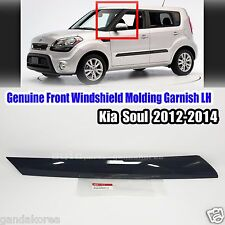 861702K500 Front Windshield Pillar Molding Garnish Left For Kia Soul 2012-2013