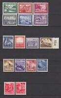 DR - Lot mit 16 postfrischen Marken, mit u.a. Mi. 909 & 910 - bitte ansehen !!