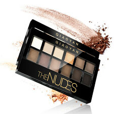 12 Colours Make Up Set Nude Color Eyeshadow Palette Cosmetic Matte Eye Shadow