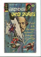 Grimm's Ghost Stories 25 . Gold Key  . 1975 -   G / VG
