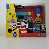 Playmates The Simpsons BOWLING ALLEY MARGE JACQUES PlaySet World of Springfield