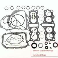 Honda CB 350 Four Motordichtsatz + Simmerringe Engine Gasket Oil Seal Set Comple