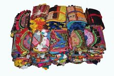 INDIAN EMBROIDERED HANDBAGS VINTAGE CROSS BODY BAG EDH CLUTCH WALLET PURSES