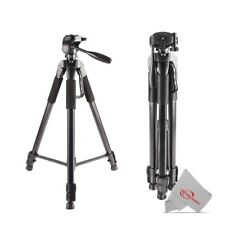 "Vivitar 72"" High Quality Tripod 15lb Capacity 3-Way Fluid Pan Professional Use"