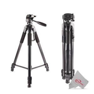 "Vivitar 72"" High Quality Tripod 15lb Capacity 3-Way Fluid Pan /Professional Use"