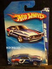 HOT WHEELS 2010 #79 -1 AMC JAVELIN AMX BLU RED TAMPO MC5 AMER CA