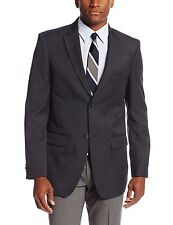 John Henry Men's Crosshatch Jacket  Charcoal