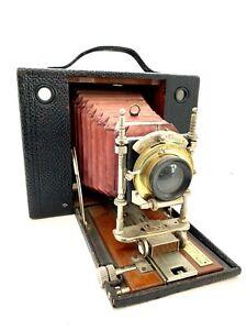 Kodak Nr. 4 Cartridge 1897 10,2 x 12,7 mit Bausch und Lamp Aplanat 1:8
