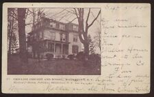 Postcard MIDDLETOWN New York/NY  Ursuline Catholic Convent & School view 1904