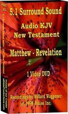 DVD Video 5.1 Surround Sound Audio New Testament KJV