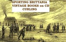 Curling Vintage Books on CD Winter Sports Scottish Canadian Rules History