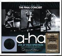 A-HA / ENDING ON A HIGHNOTE - THE FINAL CONCERT 2CD+DVD * NEW & SEALED * NEU *