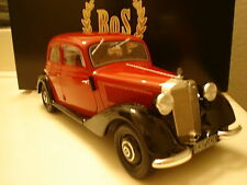 1939 Mercedes Benz 170V Red / Black by BoS Models LE of 1000 1/18 Rare In Stock!