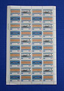 Palau (1-4) 1983 Inauguration of Postal Service MNH sheet
