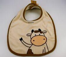 Inware Lätzchen Kuh braun Baby Latz 34x26cm Sabberlatz Sabbertuch bestickt 7943
