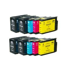 10PK 932XL 933XL Ink Cartridge NONOEM for HP Officejet 6100 6600 6700 7110 7610
