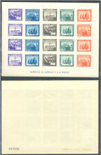 1938 EN HONOR AL EJERCITO Y MARINA HOJITA SIN DENTAR EDIFIL 850 ** MNH   TC12156