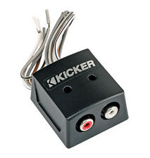 Kicker KISLOC K-Series 2-Channel Speaker Cable to RCA Converter with Line Out