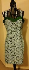 NWOT Blue Bell flower sheath dress, size 14