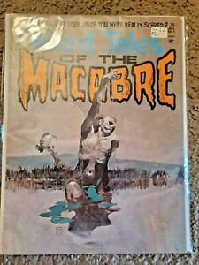 Weird Tales Of The Macabre #1 HORROR COMIC MAG KEY COLLECOTR KEY COMIC