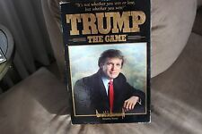 Vintage Donald Trump The Game Milton Bradley Board Game1989 NEVER USED!