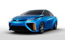 "TOYOTA FCV CONCEPT CAR A3 CANVAS PRINT POSTER FRAMED 16.5""x11.1"""