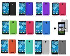 Alcatel One Touch Pop Mega LTE A995G (Straight Talk) Silicone Case + S.P