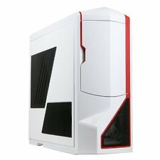 NZXT Phantom Full Tower TELAIO Gaming PC CASE-BIANCO ROSSO