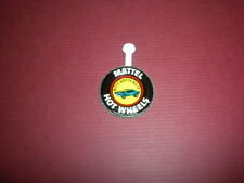 NITTY GRITTY KITTY - Mattel Hot Wheels metal badge/pin/button/pinback 1969
