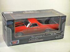 American Classics - 1970 Chevy El Camino SS 396 rouge 1:24