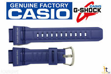 CASIO G-Shock G-9300NV-2 MUDMAN Original Blue Rubber Watch Band Strap