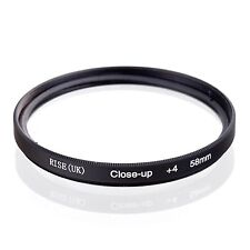 58mm Close Up +4  Macro Filter Lens Set for Canon Nikon DC camera