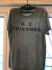 Dsquared2 WASHED GREEN / GREYISH T Shirt Size M