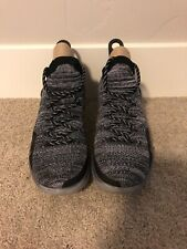 "NIKE ""Zoom KD 11"" Mens Black/Gray Basketball Shoes Size 10"